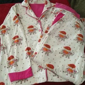 Cute Munki Munki elephant pajamas, sz Small